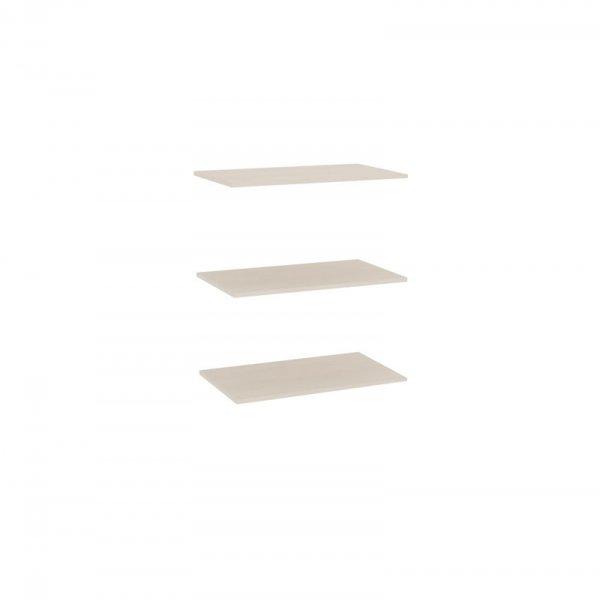 Полки к шкафу одностворчатому «Амели» (ЛД 642.330)